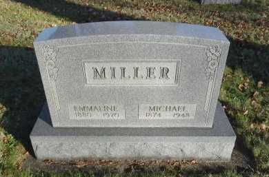 MILLER, MICHAEL - Stark County, Ohio | MICHAEL MILLER - Ohio Gravestone Photos