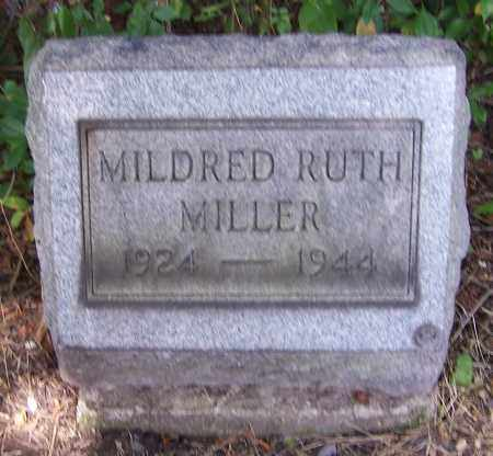 MILLER, MILDRED RUTH - Stark County, Ohio | MILDRED RUTH MILLER - Ohio Gravestone Photos