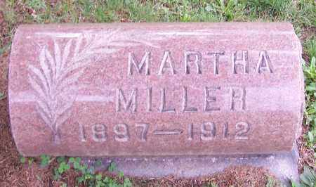 MILLER, MARTHA - Stark County, Ohio | MARTHA MILLER - Ohio Gravestone Photos