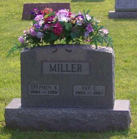 MILLER, FAY C. - Stark County, Ohio | FAY C. MILLER - Ohio Gravestone Photos