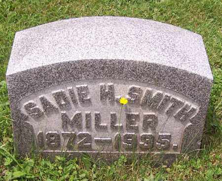 HUNSICKER MILLER, SADIE H. SMITH - Stark County, Ohio | SADIE H. SMITH HUNSICKER MILLER - Ohio Gravestone Photos