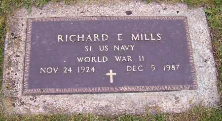MILLS, RICHARD E. - Stark County, Ohio | RICHARD E. MILLS - Ohio Gravestone Photos