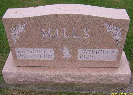MILLS, RICHARD E. - Stark County, Ohio | RICHARD E. MILLS - Ohio Gravestone Photos
