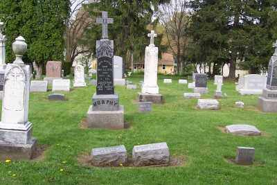 ST.PHILLIPS-ST.JAMES CEMETERY, OVER VIEW - Stark County, Ohio   OVER VIEW ST.PHILLIPS-ST.JAMES CEMETERY - Ohio Gravestone Photos