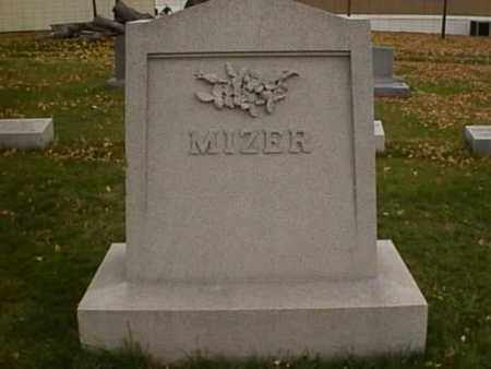 BAUDERS MIZER, SARAH ELLEN - Stark County, Ohio | SARAH ELLEN BAUDERS MIZER - Ohio Gravestone Photos