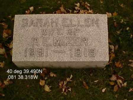 MIZER, SARAH ELLEN - Stark County, Ohio | SARAH ELLEN MIZER - Ohio Gravestone Photos