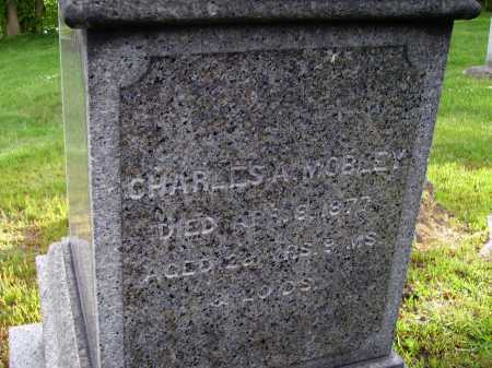 MOBLEY, CHARLES A. - Stark County, Ohio | CHARLES A. MOBLEY - Ohio Gravestone Photos