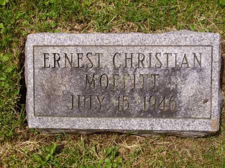 MOFFITT, ERNEST CHRISTIAN - Stark County, Ohio | ERNEST CHRISTIAN MOFFITT - Ohio Gravestone Photos