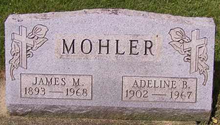 MOHLER, JAMES M. - Stark County, Ohio | JAMES M. MOHLER - Ohio Gravestone Photos