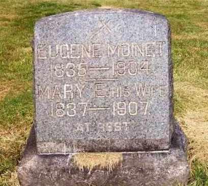 MOINET, MARY E. - Stark County, Ohio   MARY E. MOINET - Ohio Gravestone Photos