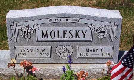 MOLESKY, MARY G. - Stark County, Ohio | MARY G. MOLESKY - Ohio Gravestone Photos
