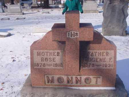 MONNOT, EUGENE F. - Stark County, Ohio | EUGENE F. MONNOT - Ohio Gravestone Photos