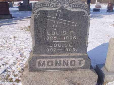MONNOT, LOUISE EMILIE - Stark County, Ohio | LOUISE EMILIE MONNOT - Ohio Gravestone Photos