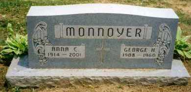 MONNOYER, GEORGE H. - Stark County, Ohio   GEORGE H. MONNOYER - Ohio Gravestone Photos