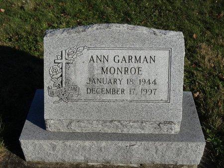 MONROE, ANN - Stark County, Ohio   ANN MONROE - Ohio Gravestone Photos