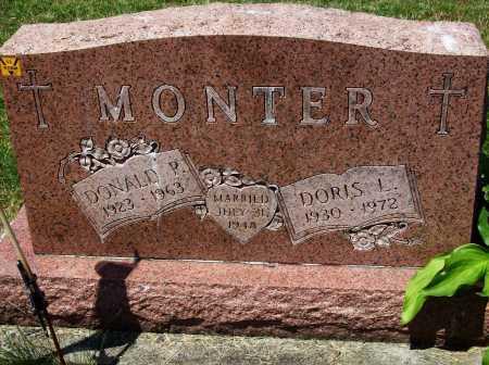 BROWN MONTER, DORIS L. - Stark County, Ohio   DORIS L. BROWN MONTER - Ohio Gravestone Photos