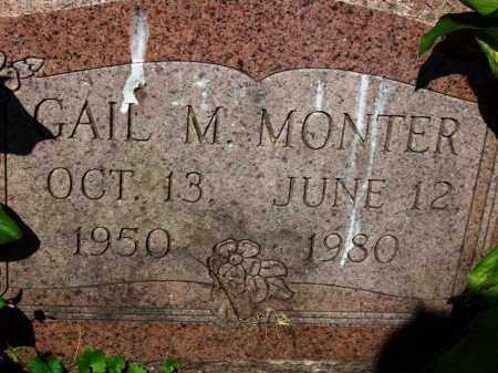 MONTER, GAIL M. - Stark County, Ohio | GAIL M. MONTER - Ohio Gravestone Photos