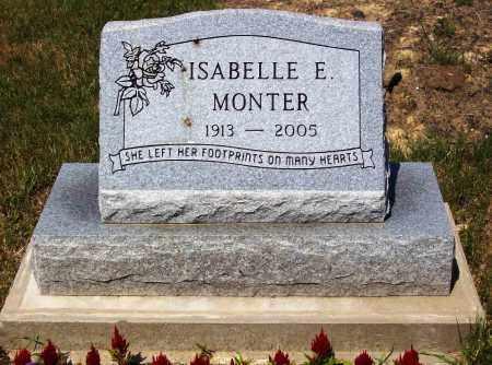 MONTER, ISABELLE E. - Stark County, Ohio | ISABELLE E. MONTER - Ohio Gravestone Photos