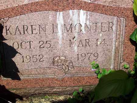 MONTER, KAREN L. - Stark County, Ohio | KAREN L. MONTER - Ohio Gravestone Photos