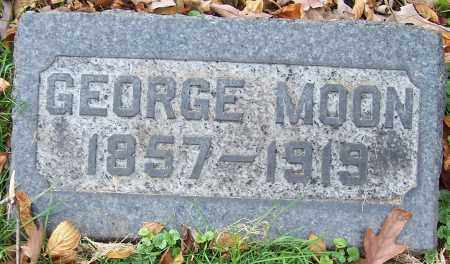 MOON, GEORGE - Stark County, Ohio | GEORGE MOON - Ohio Gravestone Photos
