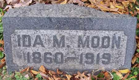 MOON, IDA M. - Stark County, Ohio | IDA M. MOON - Ohio Gravestone Photos