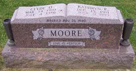 MOORE, KATHRYN P. - Stark County, Ohio   KATHRYN P. MOORE - Ohio Gravestone Photos