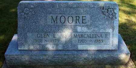MOORE, GLEN E. - Stark County, Ohio | GLEN E. MOORE - Ohio Gravestone Photos