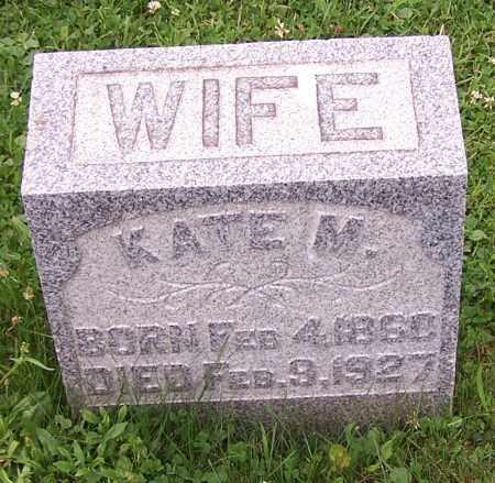 MOORE, KATE M. - Stark County, Ohio | KATE M. MOORE - Ohio Gravestone Photos