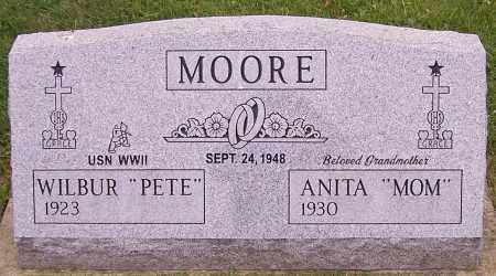 "MOORE, ANITA ""MOM"" - Stark County, Ohio | ANITA ""MOM"" MOORE - Ohio Gravestone Photos"
