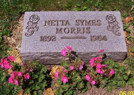 MORRIS, NETTA SYMES - Stark County, Ohio | NETTA SYMES MORRIS - Ohio Gravestone Photos