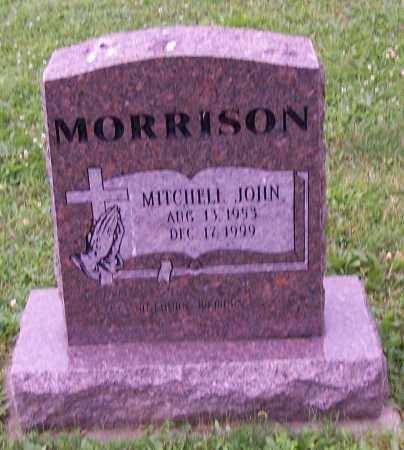 MORRISON, JOHN MITCHELL - Stark County, Ohio | JOHN MITCHELL MORRISON - Ohio Gravestone Photos