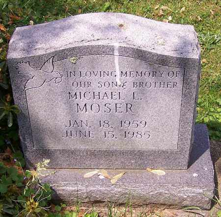 MOSER, MICHAEL L. - Stark County, Ohio | MICHAEL L. MOSER - Ohio Gravestone Photos