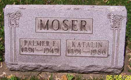 MOSER, PALMER E. - Stark County, Ohio | PALMER E. MOSER - Ohio Gravestone Photos