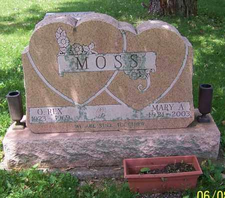 MOSS, O.REX - Stark County, Ohio | O.REX MOSS - Ohio Gravestone Photos