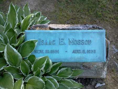 MOSSOP, ISAAC E. - Stark County, Ohio   ISAAC E. MOSSOP - Ohio Gravestone Photos