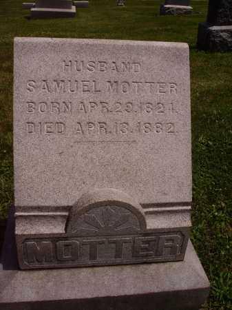 MOTTER, SAMUEL - Stark County, Ohio | SAMUEL MOTTER - Ohio Gravestone Photos