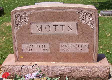 MOTTS, RALPH M. - Stark County, Ohio | RALPH M. MOTTS - Ohio Gravestone Photos