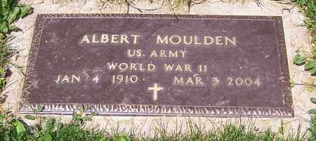 MOULDEN, ALBERT    (MIL) - Stark County, Ohio | ALBERT    (MIL) MOULDEN - Ohio Gravestone Photos