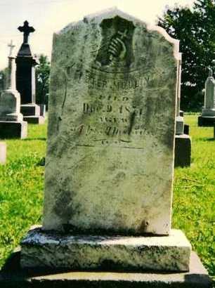 MOULIN, PETER, JR. - Stark County, Ohio | PETER, JR. MOULIN - Ohio Gravestone Photos