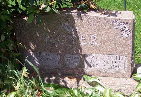 MOYER, FAY J. - Stark County, Ohio | FAY J. MOYER - Ohio Gravestone Photos