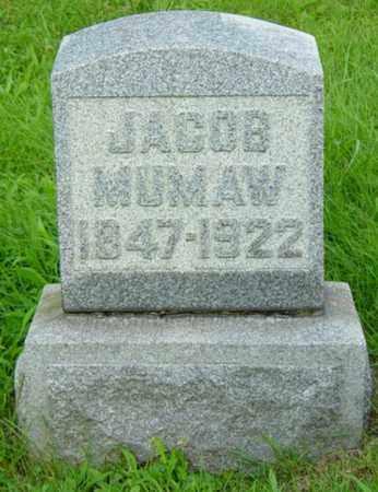 MUMAW, JACOB - Stark County, Ohio   JACOB MUMAW - Ohio Gravestone Photos