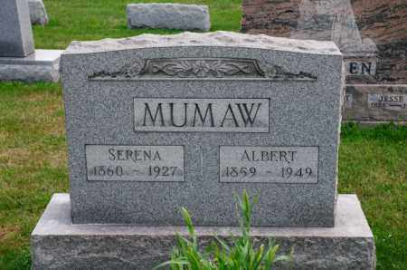 MUMAW, ALBERT - Stark County, Ohio | ALBERT MUMAW - Ohio Gravestone Photos