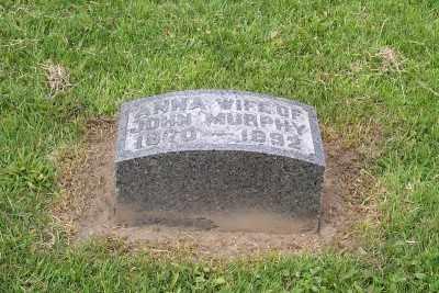 MURPHY, ANNA - Stark County, Ohio | ANNA MURPHY - Ohio Gravestone Photos