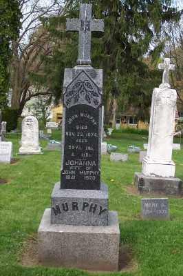 MURPHY, JOHANNA - Stark County, Ohio | JOHANNA MURPHY - Ohio Gravestone Photos