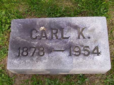 MYERS, CARL K. - Stark County, Ohio | CARL K. MYERS - Ohio Gravestone Photos