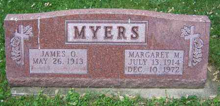 MYERS, JAMES O. - Stark County, Ohio   JAMES O. MYERS - Ohio Gravestone Photos