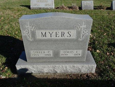 MYERS, LOUIS E. - Stark County, Ohio | LOUIS E. MYERS - Ohio Gravestone Photos