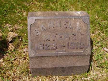 MYERS, SAMUEL L. - Stark County, Ohio | SAMUEL L. MYERS - Ohio Gravestone Photos