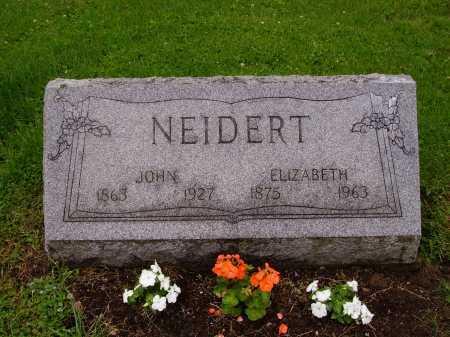NEIDERT, JOHN - Stark County, Ohio | JOHN NEIDERT - Ohio Gravestone Photos