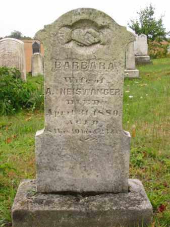 NEISWANGER, BARBARA - Stark County, Ohio | BARBARA NEISWANGER - Ohio Gravestone Photos